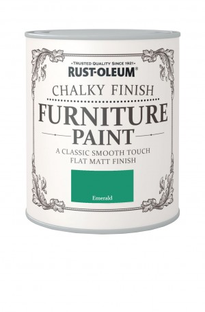 Chalky Finish Furniture Paint Emerald