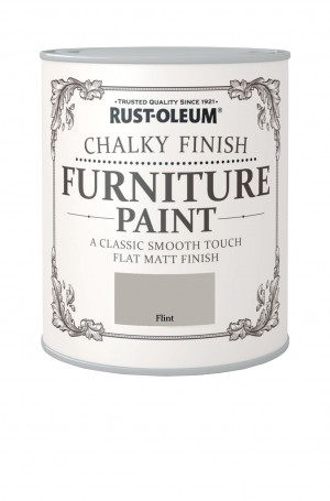 Chalky Finish Furniture Paint Flint