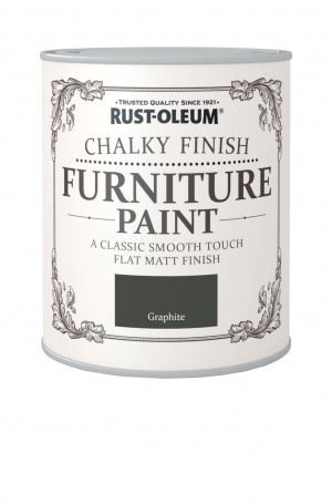 Chalky Finish Furniture Paint Graphite