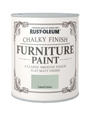 Chalky Finish Furniture Paint Laurel Green