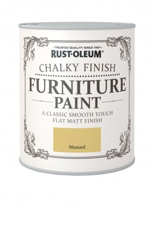 Chalky Finish Furniture Paint Mustard