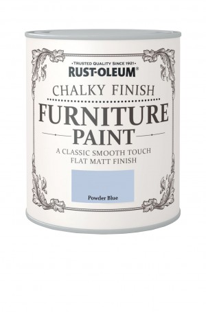 Chalky Finish Furniture Paint Powder Blue