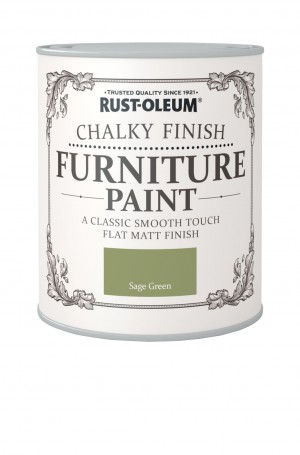 Chalky Finish Furniture Paint Sage Green