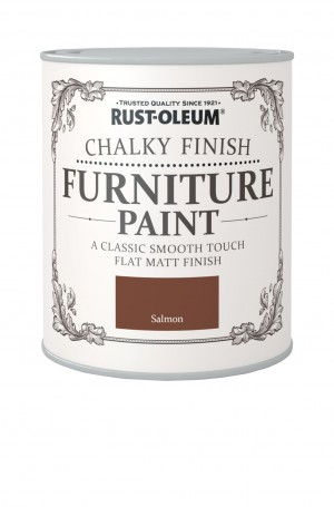 Chalky Finish Furniture Paint Salmon