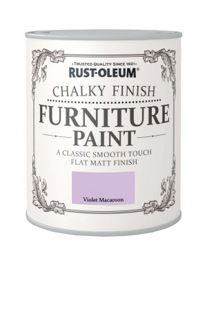 Chalky Finish Furniture Paint Violet Macaroon
