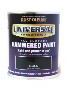 Universal Hammered All-Surface Black