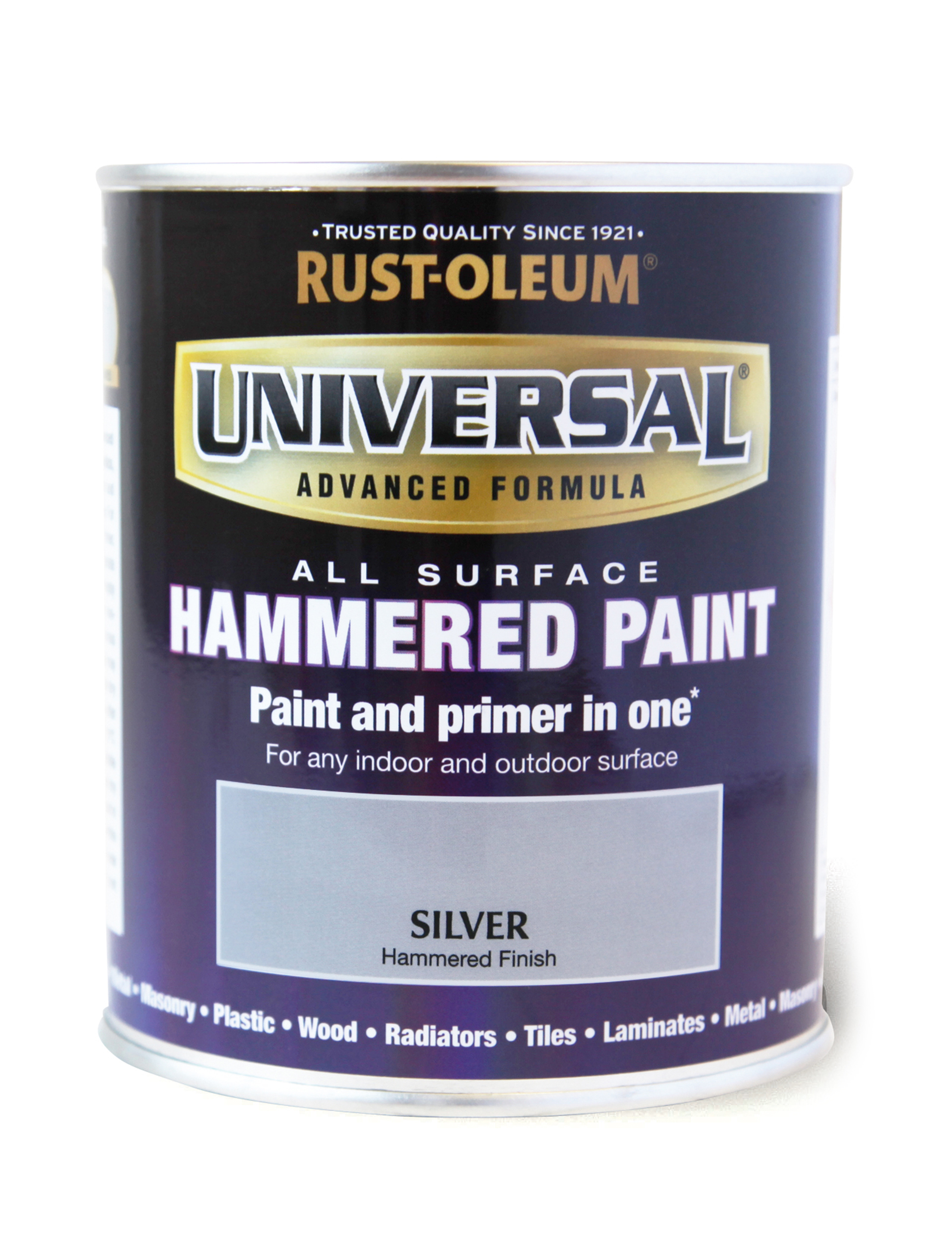 Universal Hammered All-Surface Silver