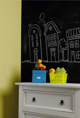 Chalk It Out! Create A Chalkboard Wall