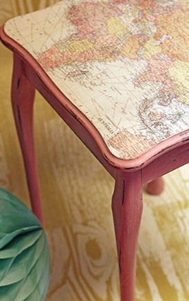Project Inspiration: Creating A Quirky Map Table