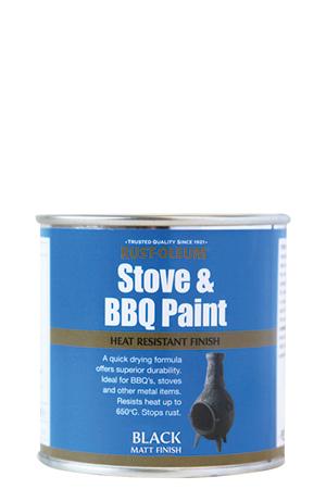 Stove & BBQ Black Matt
