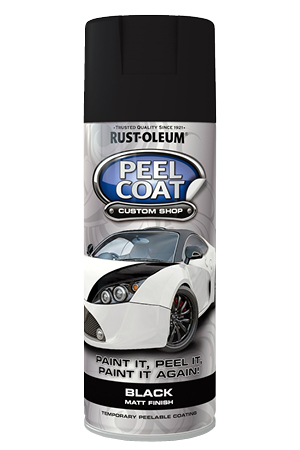 Peelcoat Black Matt