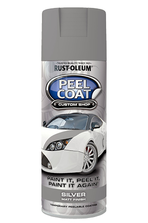 Peelcoat Silver Matt