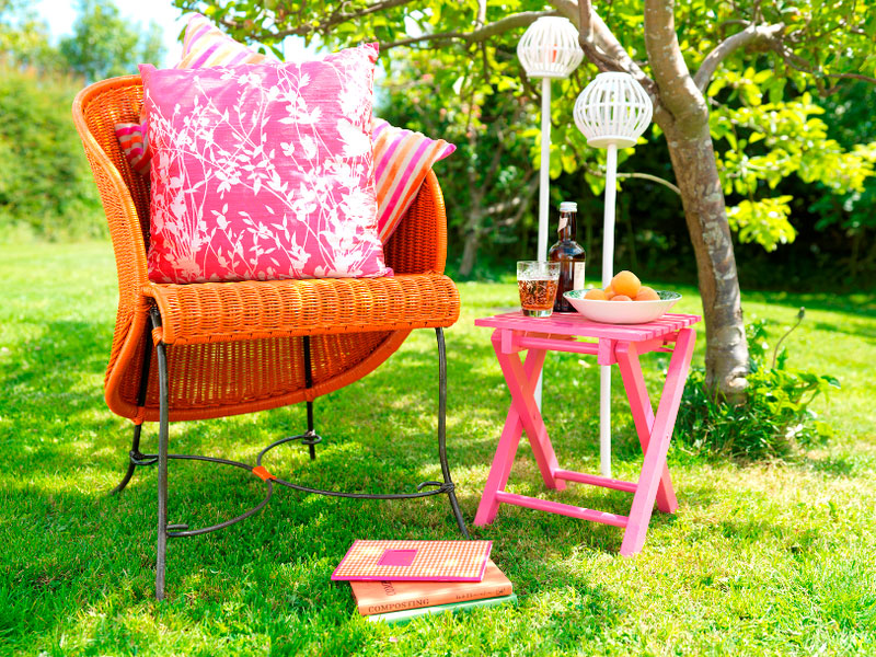 How To Paint Garden Furniture