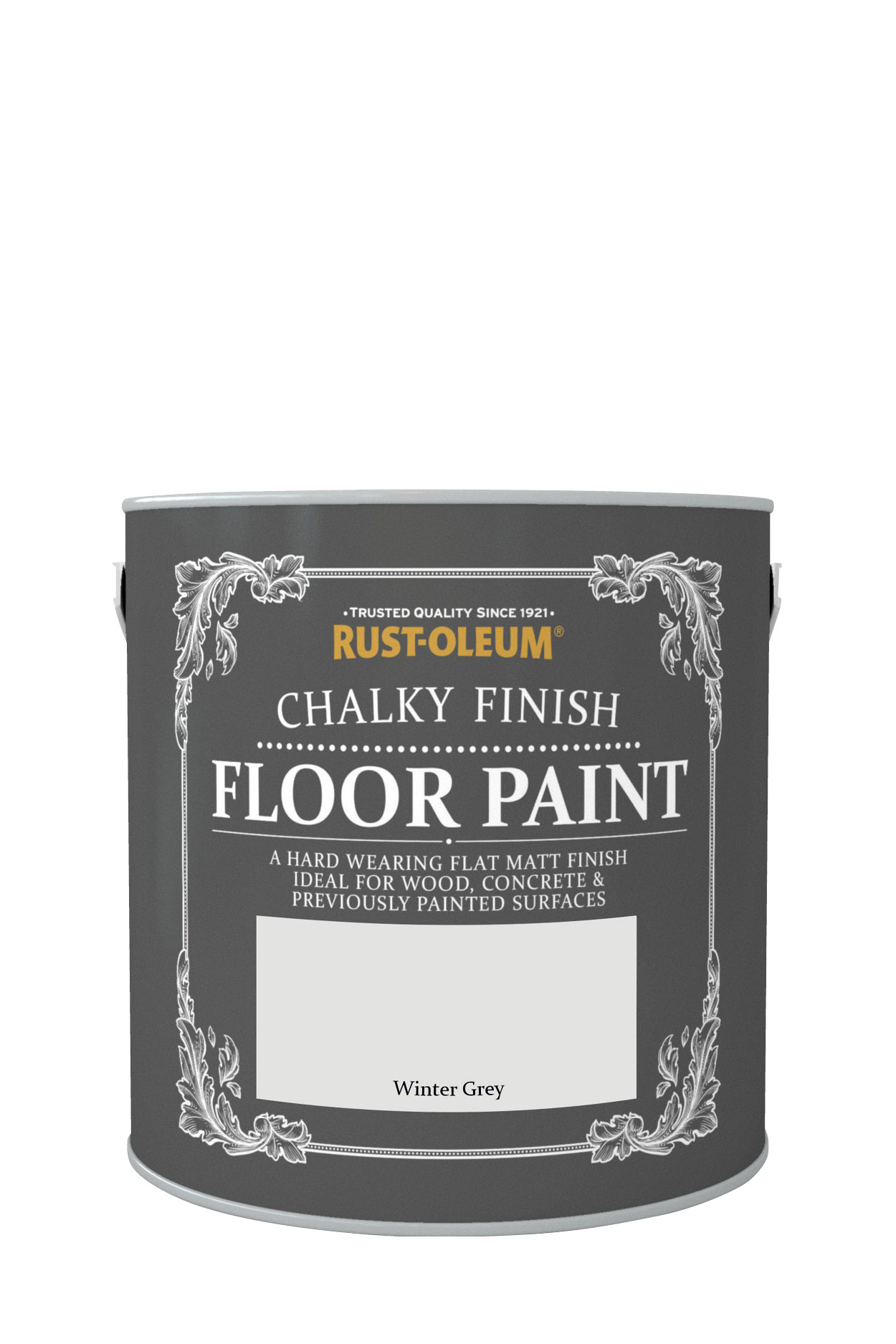 Chalky Finish Floor Paint 2.5L