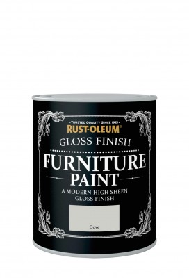Gloss Finish Furniture Paint 750ml