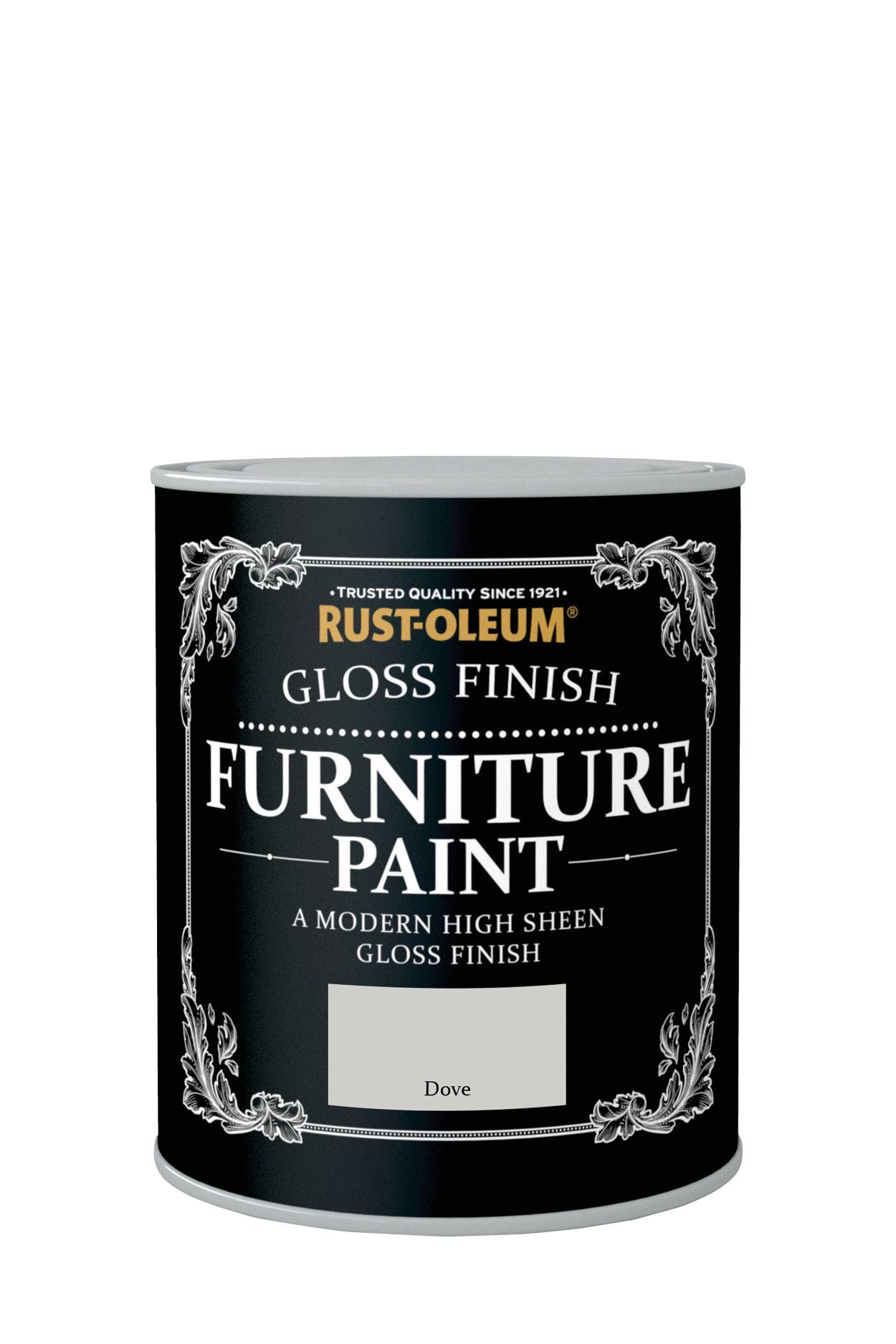Gloss Finish Furniture Paint 750ml