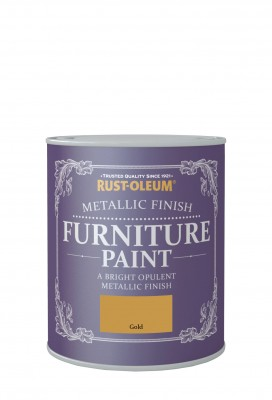 Metallic Finish Furniture Paint 750ml