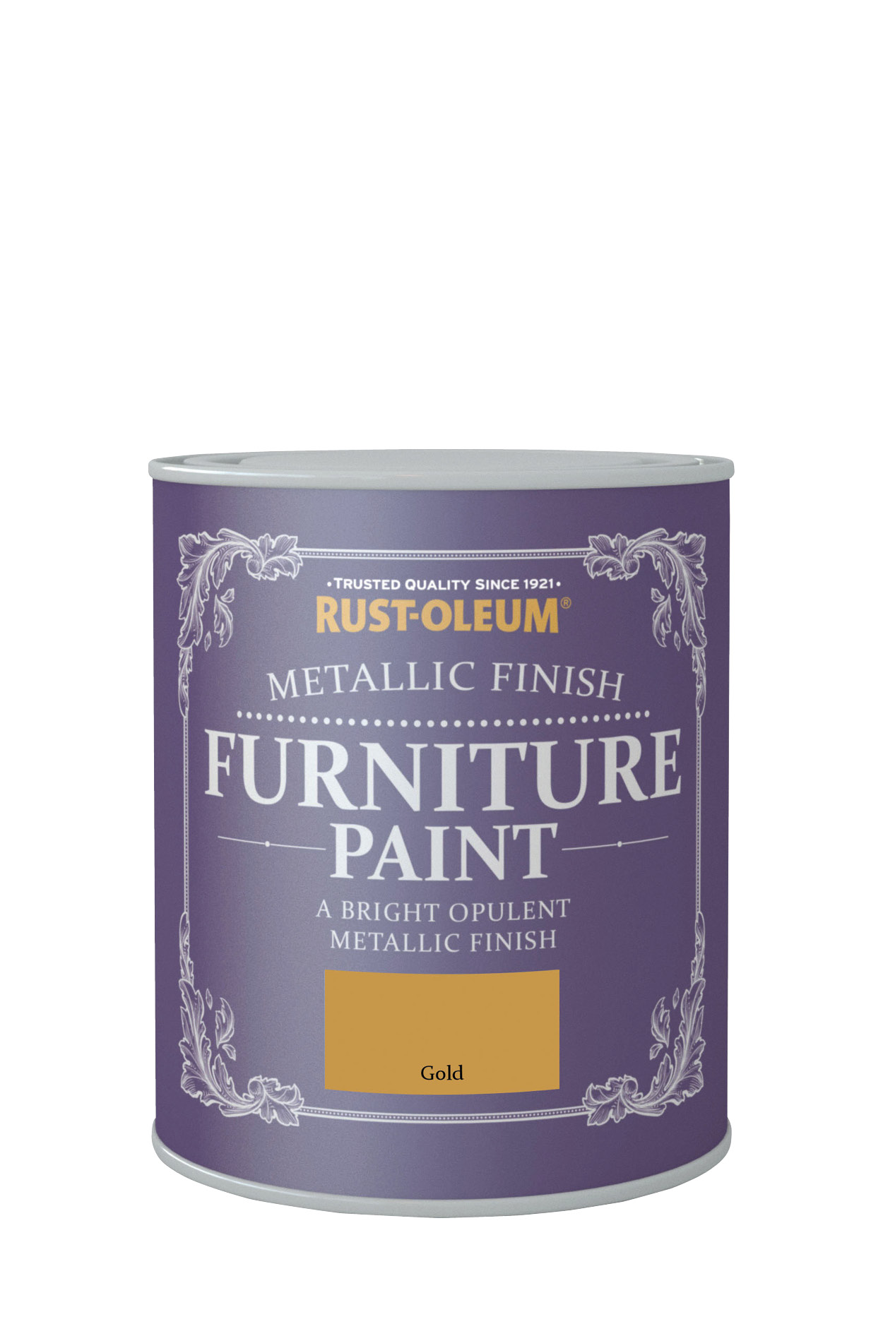 Metallic Finish Furniture Paint 750ml