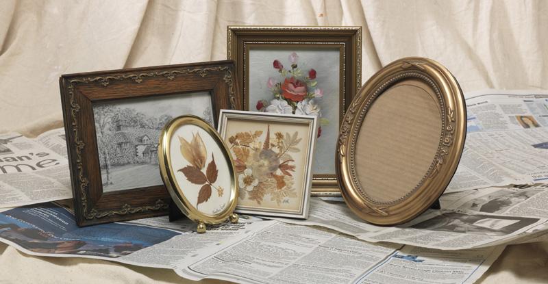 project inspiration update an ornate photo frame. Black Bedroom Furniture Sets. Home Design Ideas