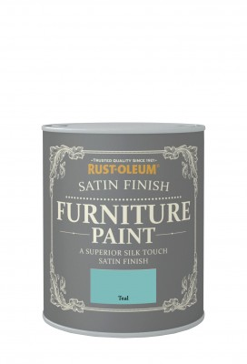 Satin Finish Furniture Paint 750ml