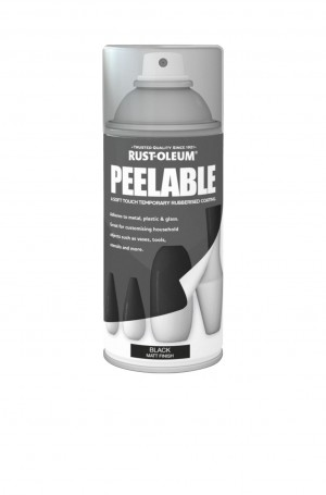 Peelable Black Matt