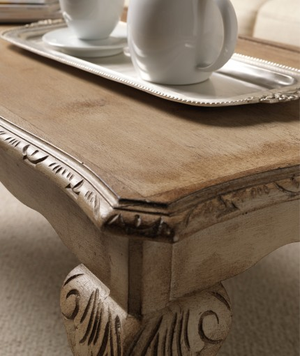Furniture Finishing Wax (dark) - Hessian & Dark Wax Coffee Table