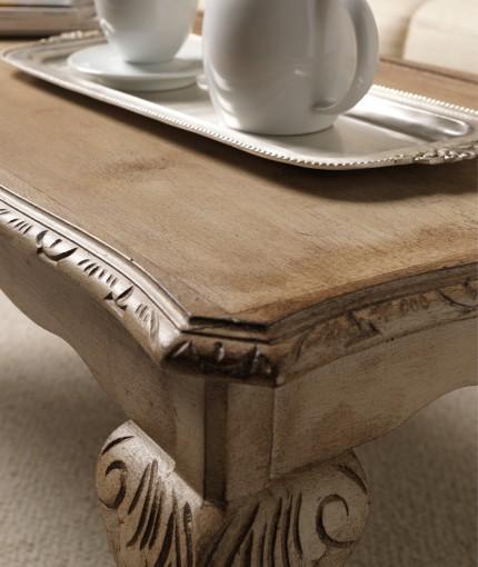 Furniture Finishing Wax (dark) - Hessian & Dark Wax Coffee Table