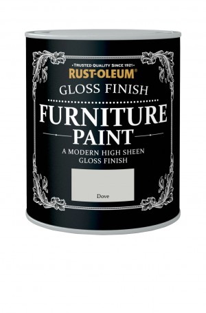 Gloss Finish Furniture Paint Dove