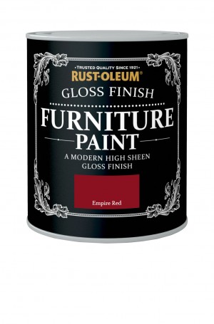 Gloss Finish Furniture Paint Empire Red