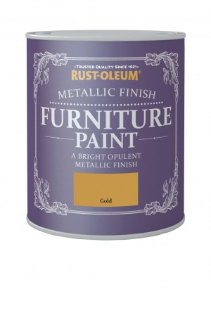 Metallic Finish Furniture Paint Gold