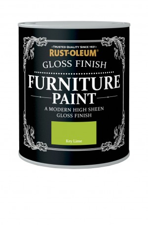Gloss Finish Furniture Paint Key Lime