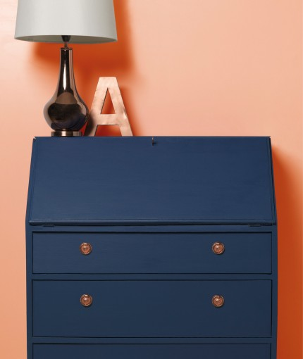Furniture Lacquer - Furniture Lacquer & Ink Blue Bureau