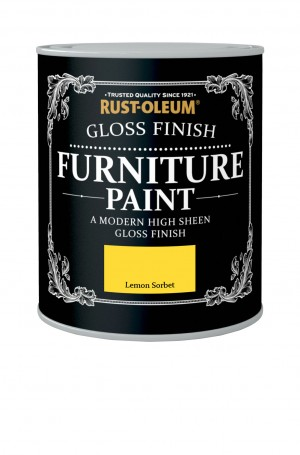 Gloss Finish Furniture Paint Lemon Sorbet