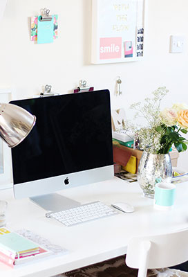 16 WAYS TO UPDATE YOUR HOME OFFICE