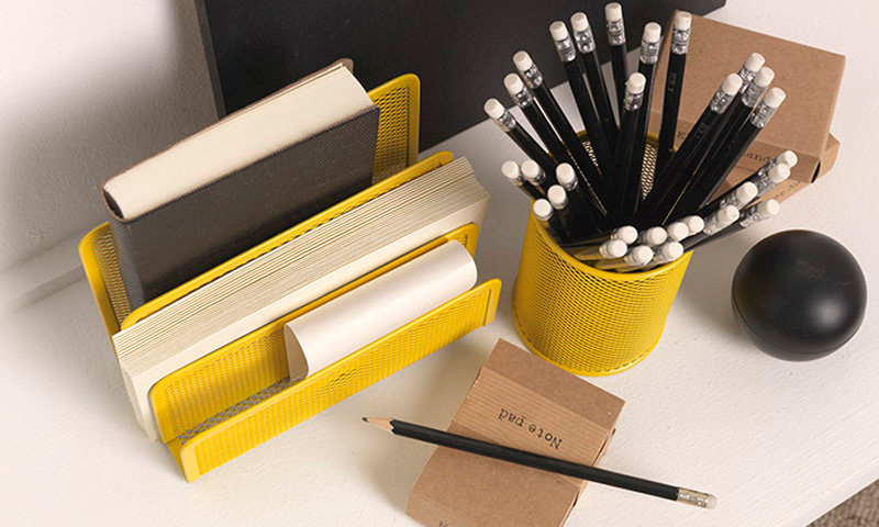 Yellow Stationary