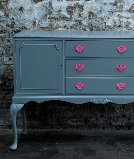 Satin Finish Furniture Paint - Slate Sideboard