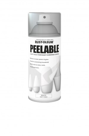 Peelable White Matt