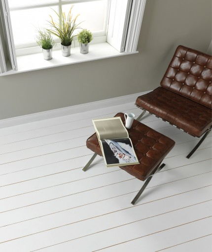 Chalky Finish Floor Paint - Chalk White Floor Paint
