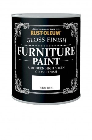 Gloss Finish Furniture Paint White Frost