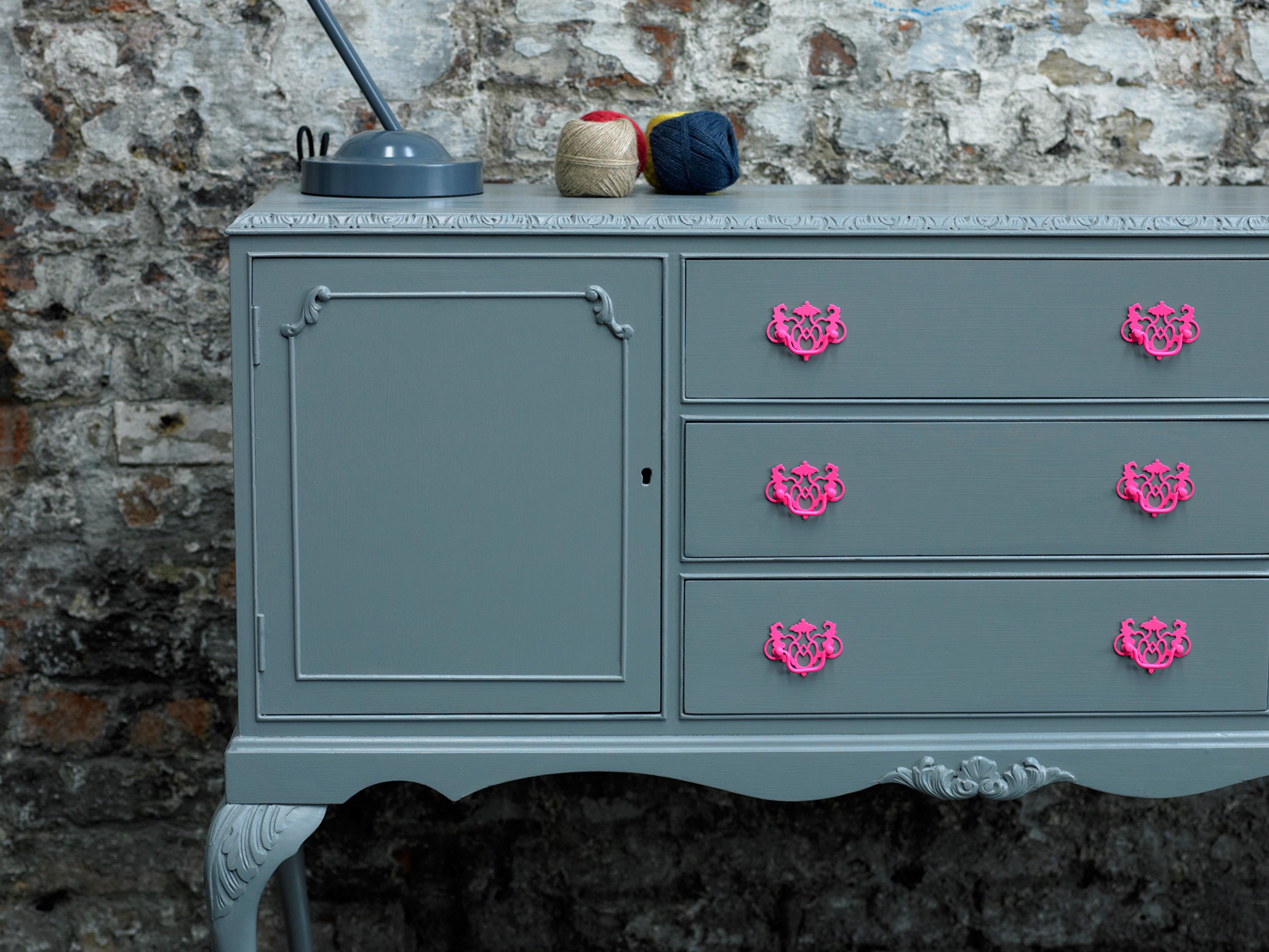 Satin Finish Furniture Paint Slate Rustoleum Spray Paint