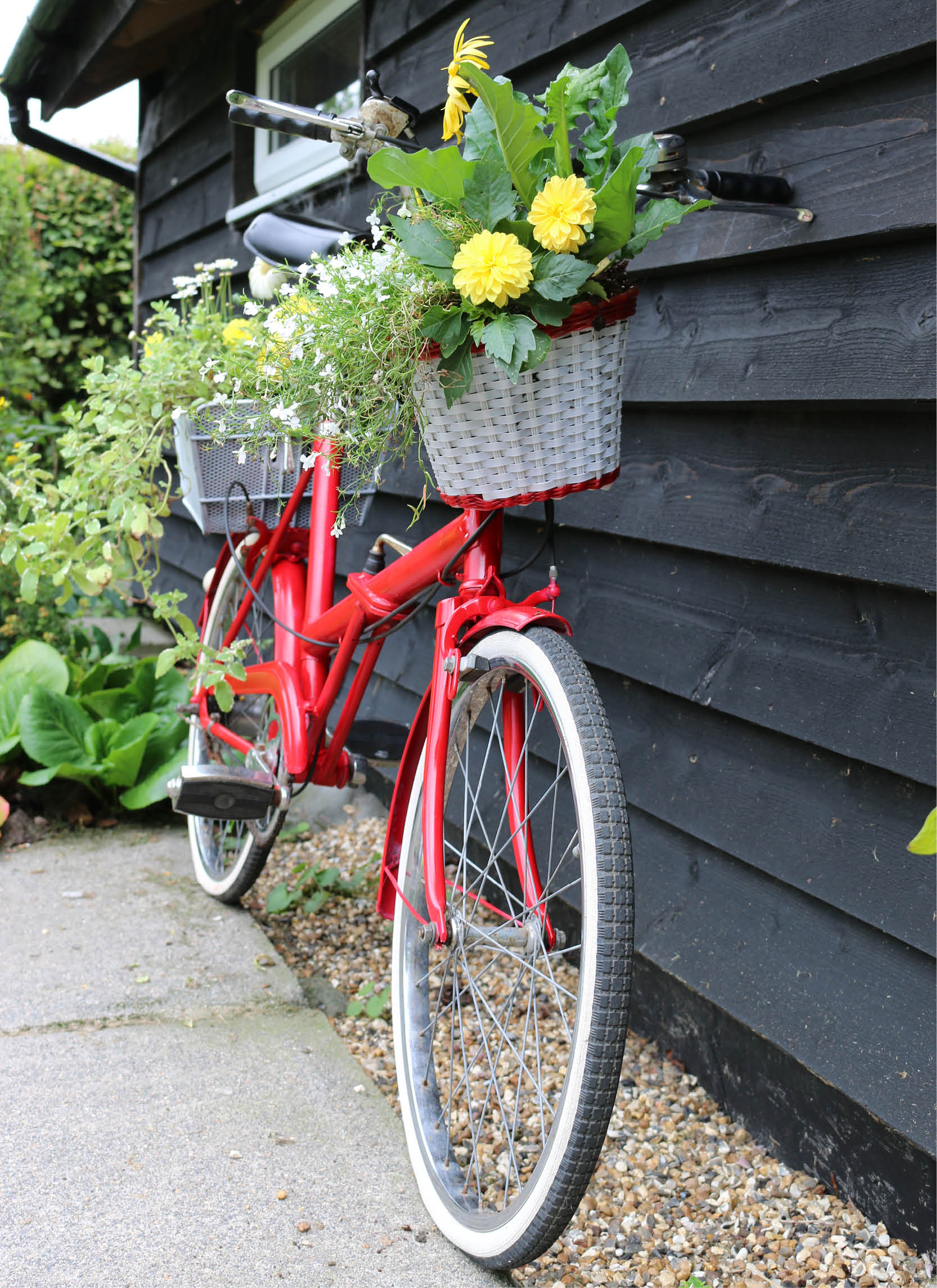 Uncategorized Bicycle Planters how to create a vintage bicycle planter