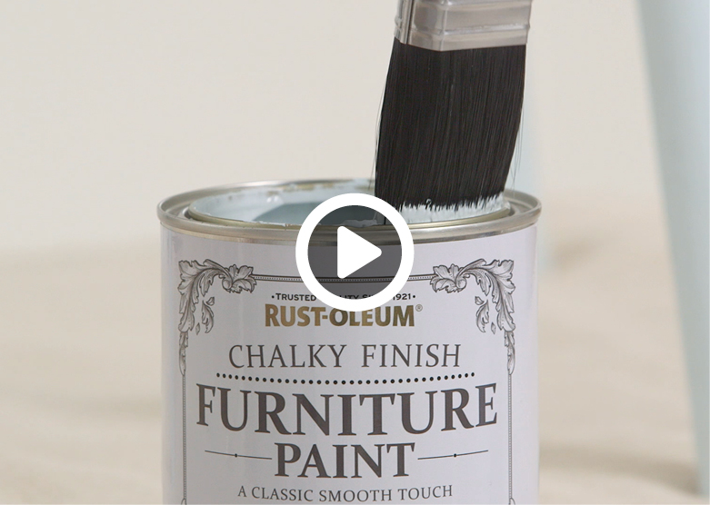 How To Use Rust Oleum Chalky Finish Furniture Paint