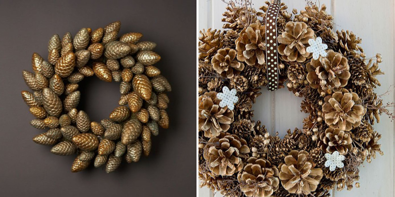 pineconewreaths