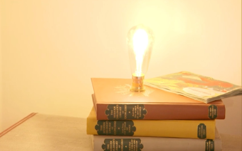 Rob Fawcett Book Stack Lamp
