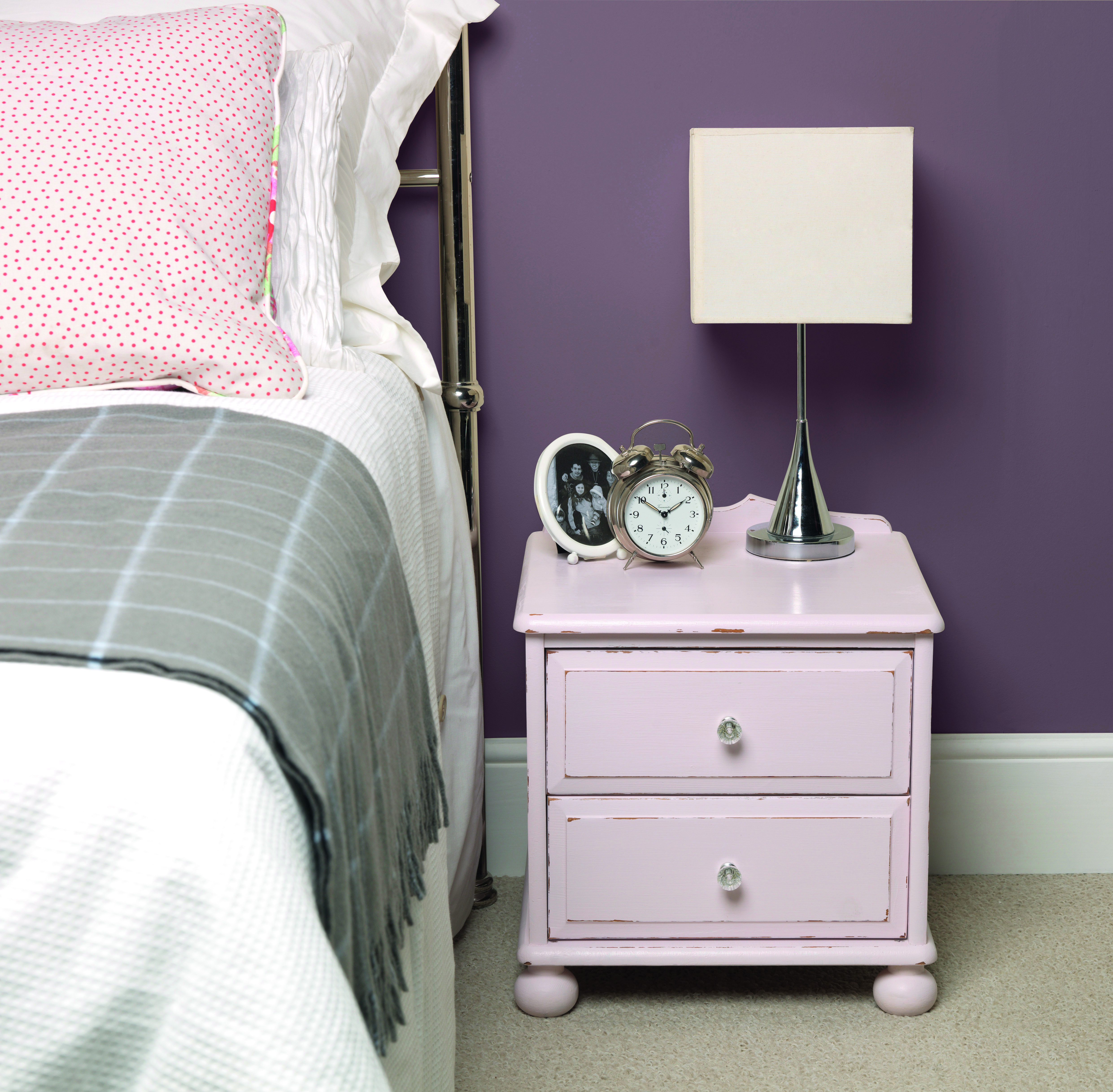 China Rose Bedside Table 2