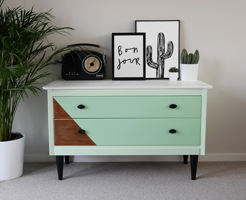 GreenChestofDrawers