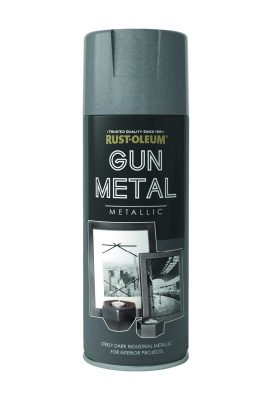 Metallic Gun Metal 400ml