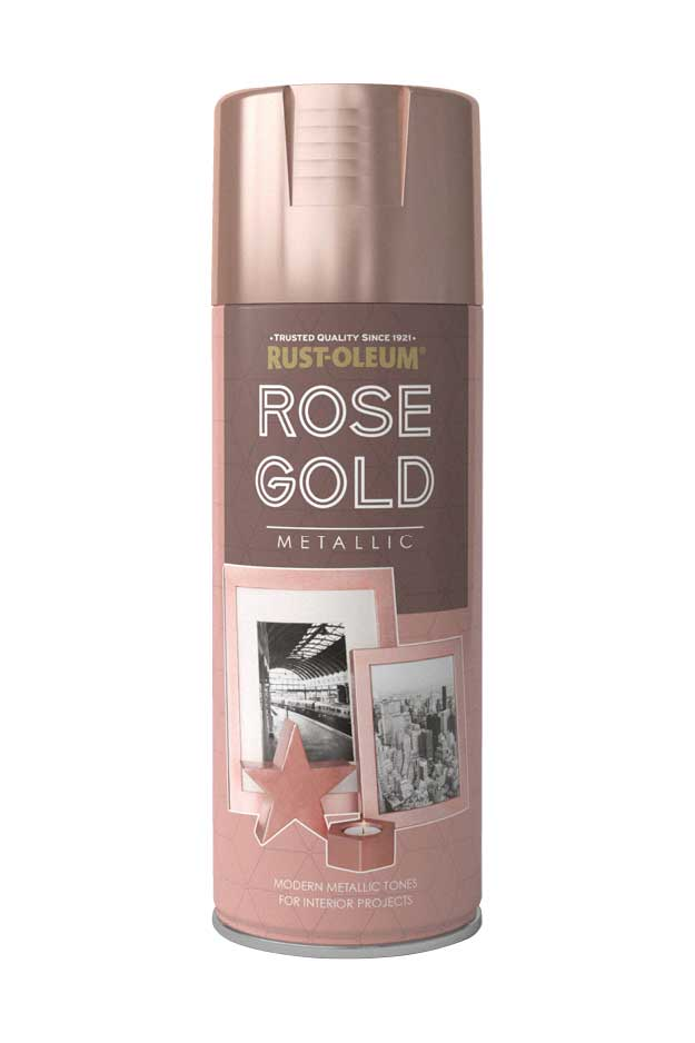 rose gold metallic spray paint rustoleum spray paint. Black Bedroom Furniture Sets. Home Design Ideas