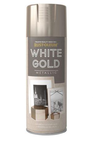 Metallic White Gold