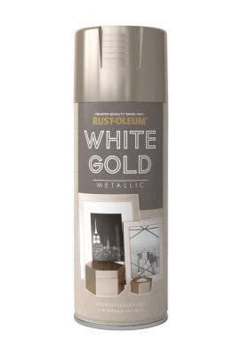 Metallic White Gold 400ml